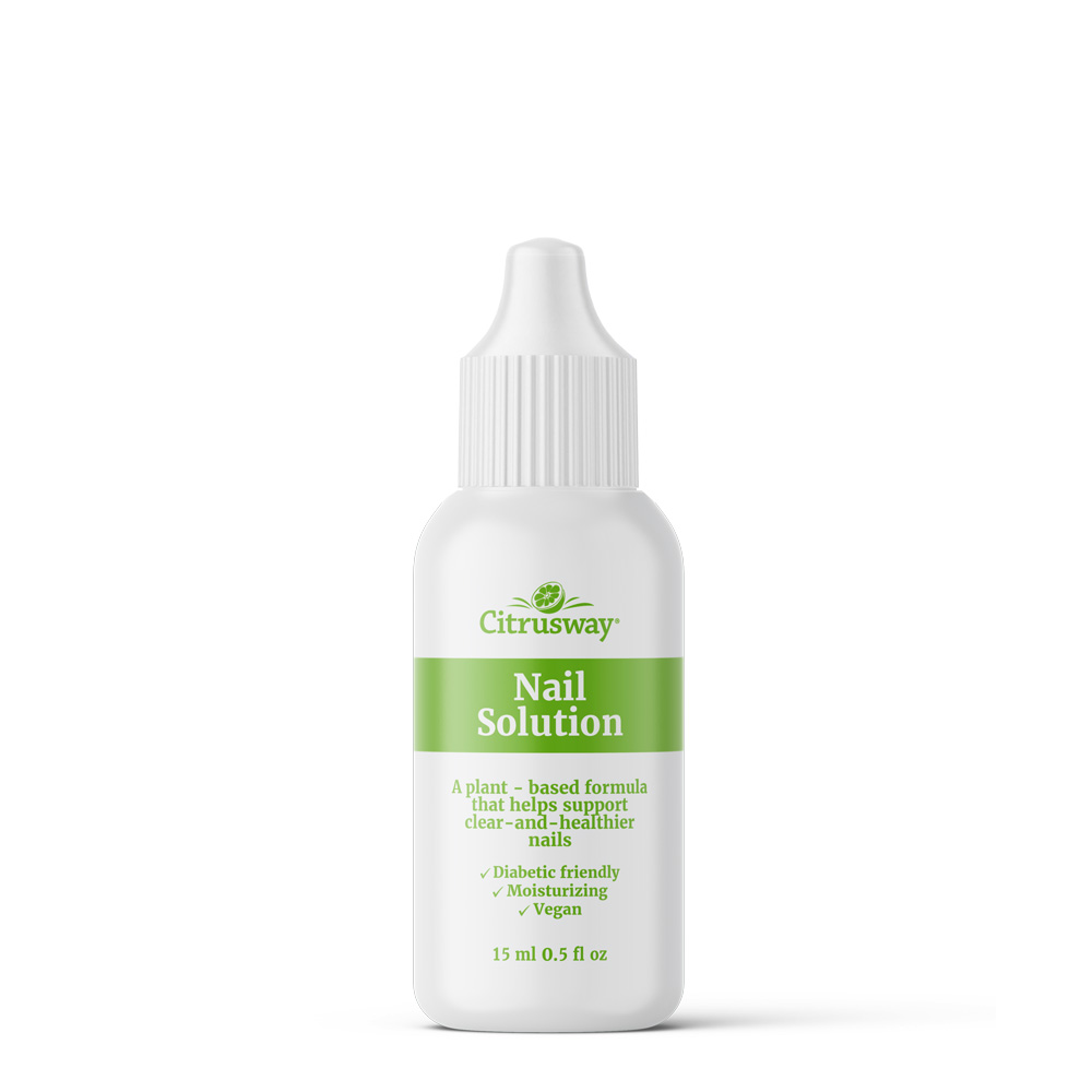 Citrusway Clay Nail Solution Bottle